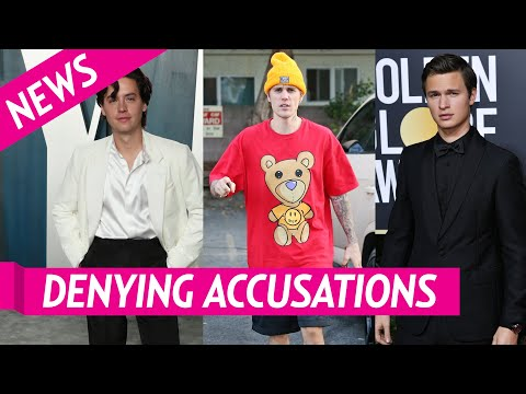Cole Sprouse, Justin Bieber, Ansel Elgort Deny Sexual Assault Allegations